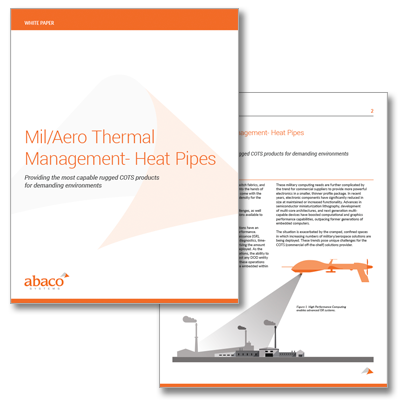 Mil/Aero Thermal Management- Heat Pipes