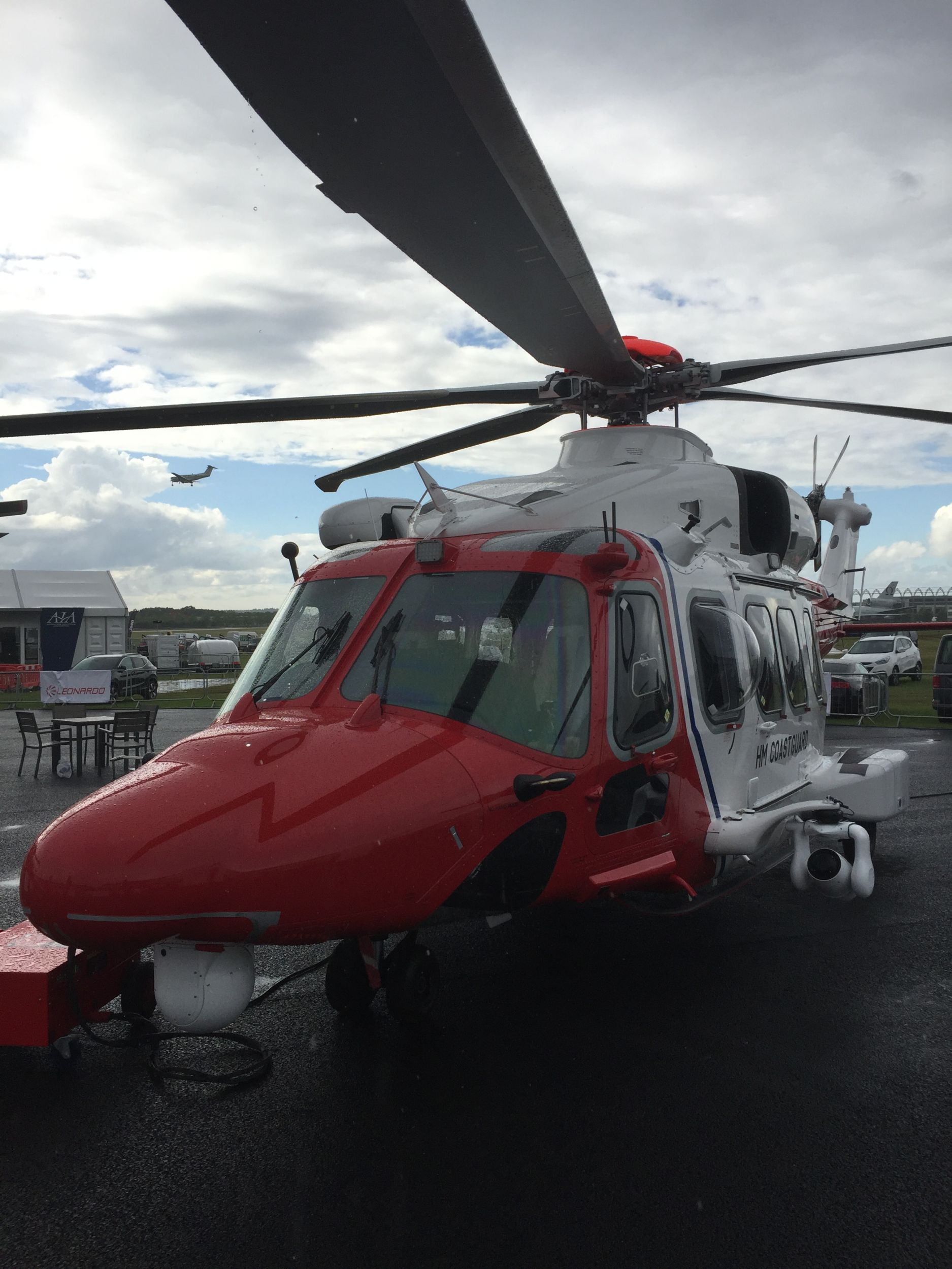 Farnborough Airshow Helicopter