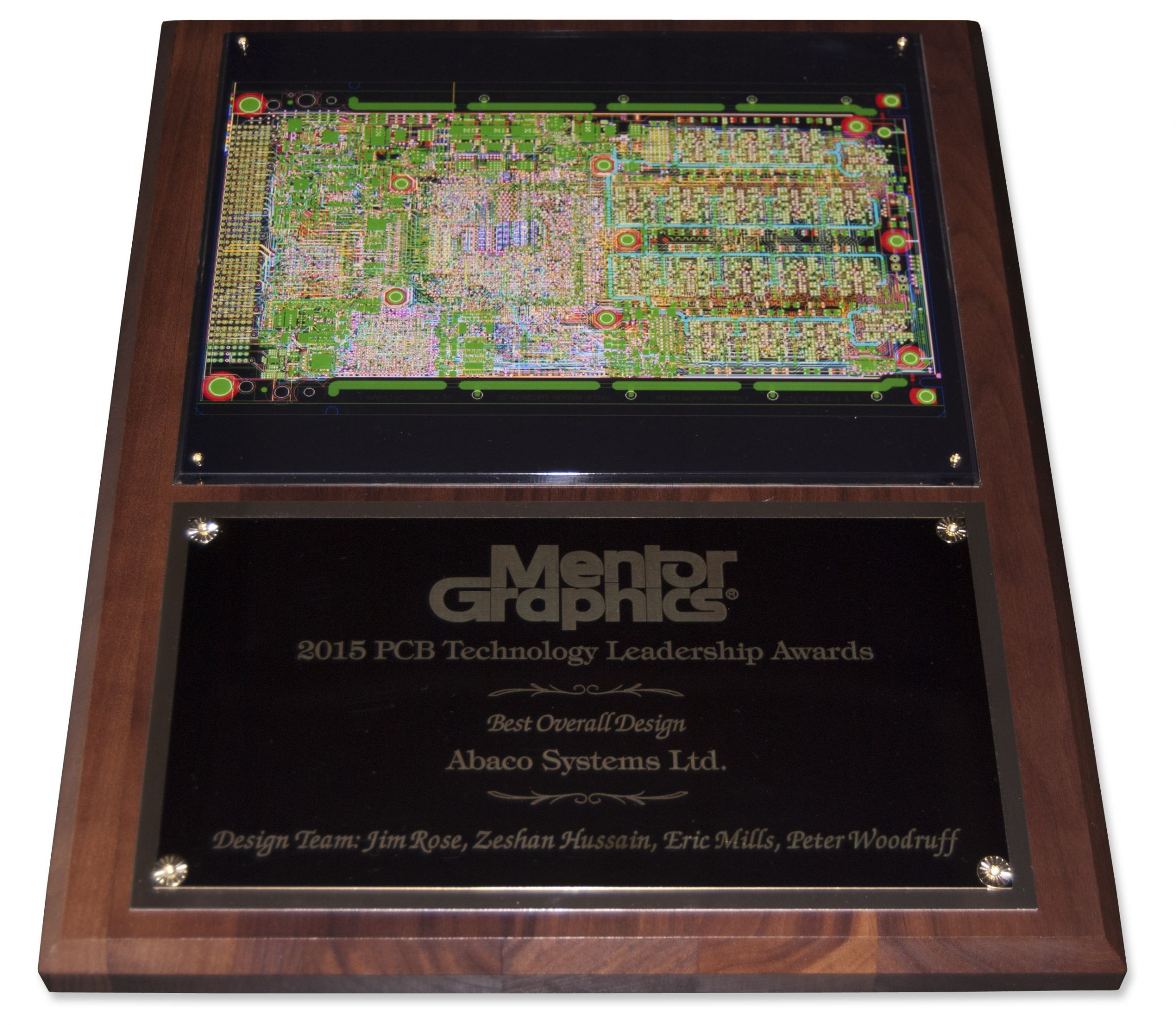 Mentor Graphics Award