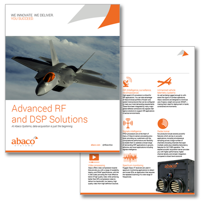 Advanced RF and DSP Solutions