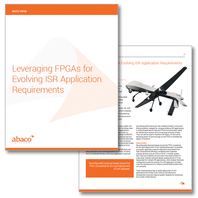 Leveraging FPGAs for Evolving ISR Application Requirements