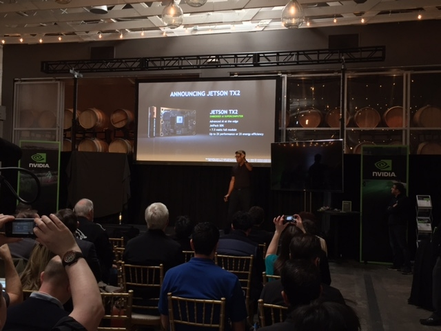 In SFO for the NVIDIA TX2 Launch | Abaco Systems